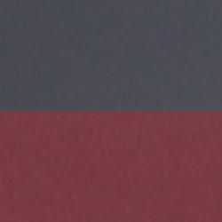 schwarz-rot - Federzunge rot